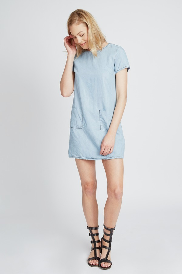 Chambray Pocket Smock
