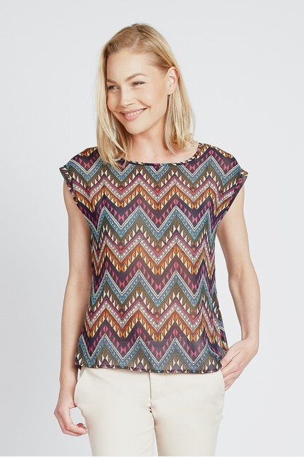 Abstract Chevron Top