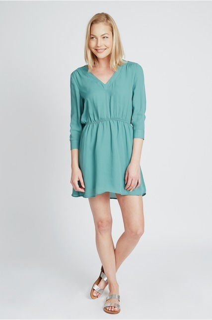 Flowy Elastic Waist Dress