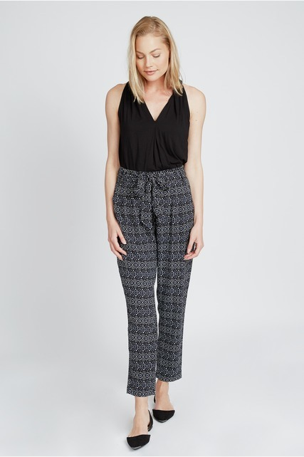 Soft Woven Printed Pant