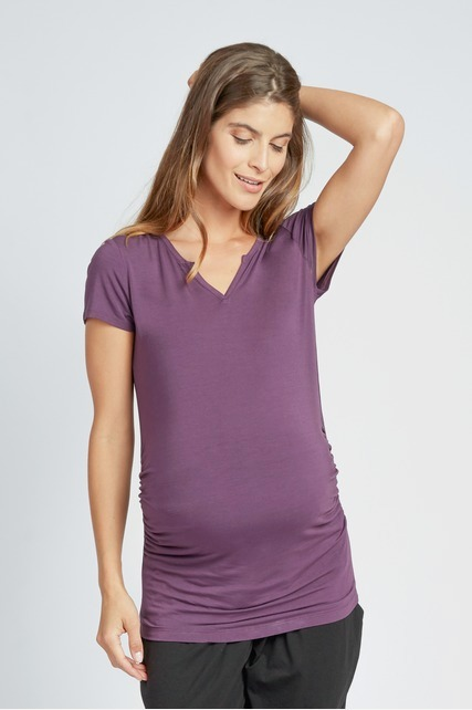 Side Shirred Top