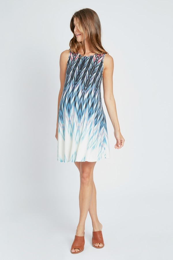 Ikat Ombre Dress