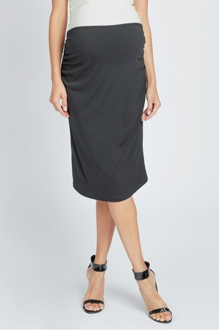 Shirred Waist Skirt