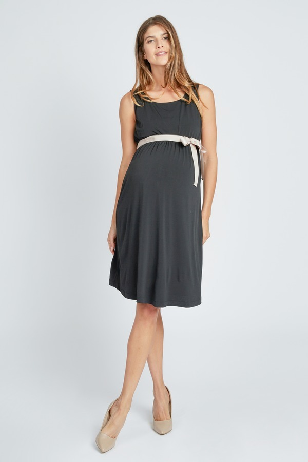 Belted Empire Waist Dress