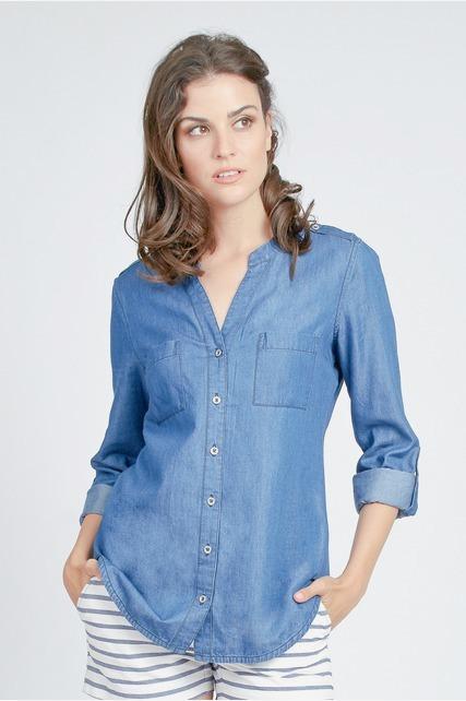 Tencel Button Up Shirt
