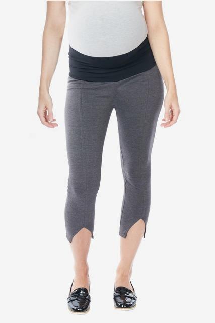 Fold Over Ponte Pants