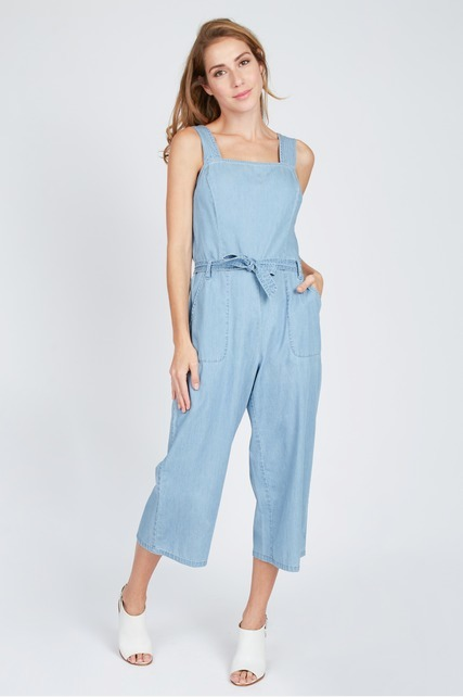 Denim Culotte Jumper