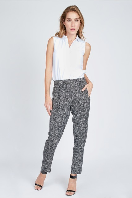 Melange Relaxed Pants