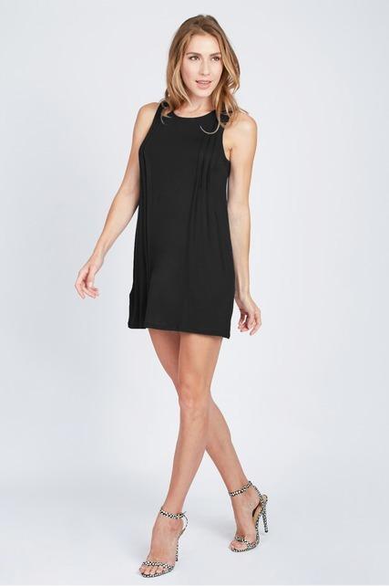 Knit Pintuck Dress