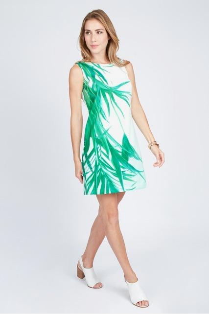 Scuba Palm Dress