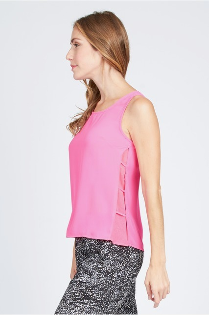 Bright Criss Cross Tank