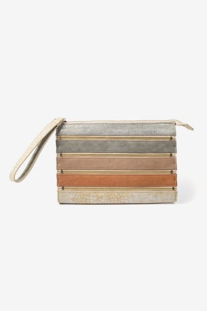 Mixed Media Clutch