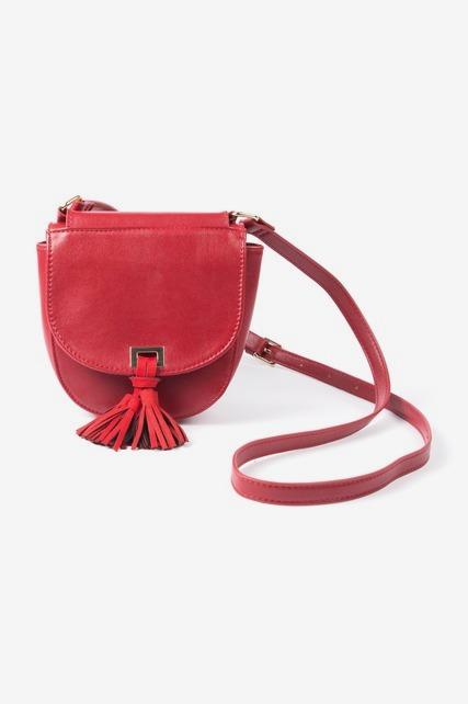 Foldover Tassel Bag
