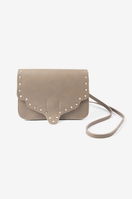 Studded Scallop Bag