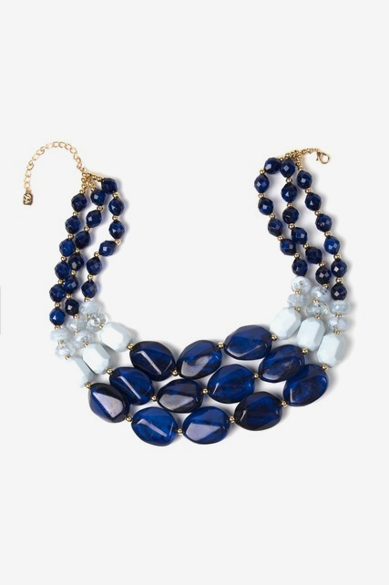 Blue Hues Necklace