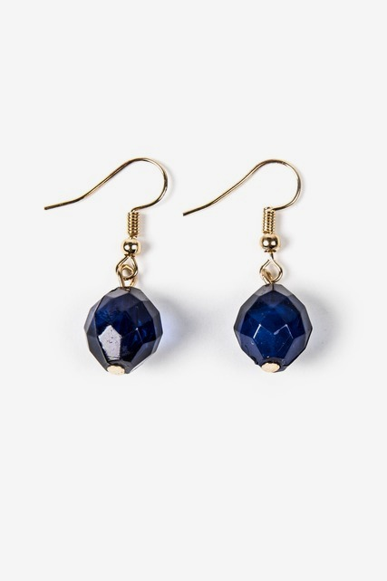 Faceted Drop Earring