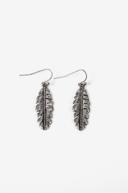 Antique Feather Drops