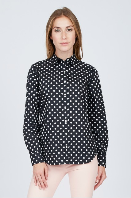 Polka Dot Button Up Shirt
