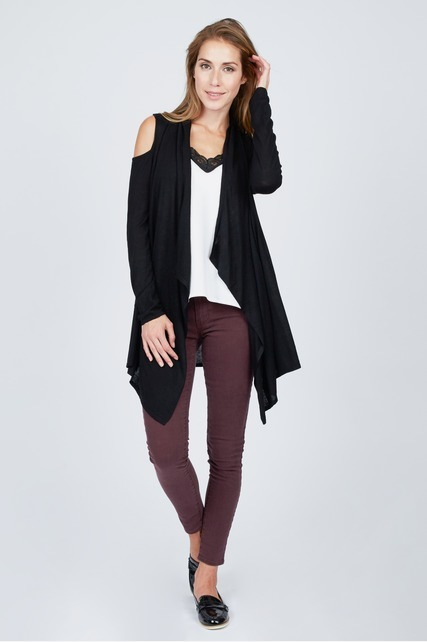 Cold Shoulder Cardigan