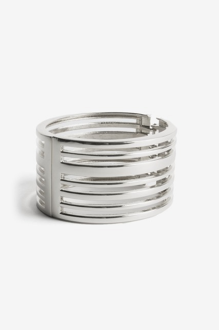 Cutout Stripe Cuff