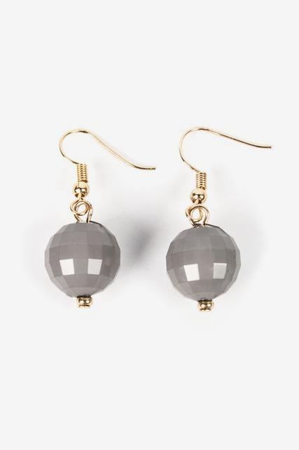 Silver Bauble Earring