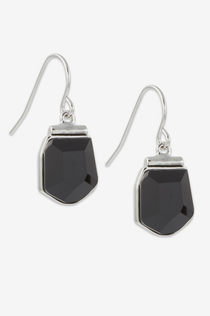 Onyx Stone Drop Earring