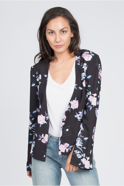 Pastel Bell Sleeve Jacket