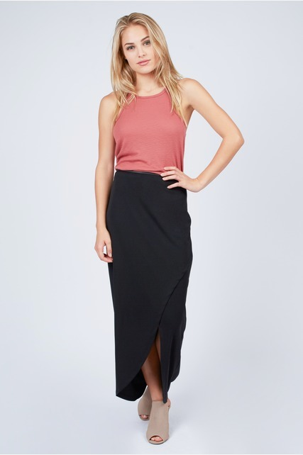 Front Wrap Skirt