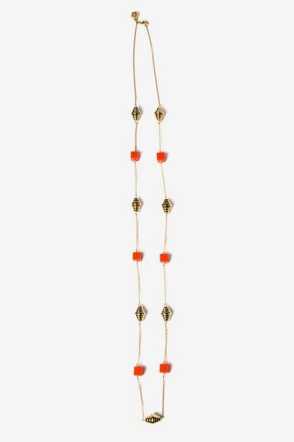 Geo Station Necklace