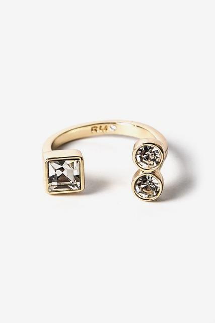 Stone Cap Ring