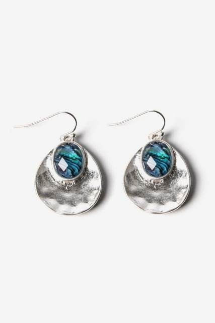 Abalone Stone Earrings