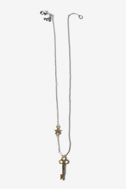 Key & Star Necklace