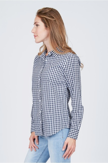 Checkered Button Up Shirt