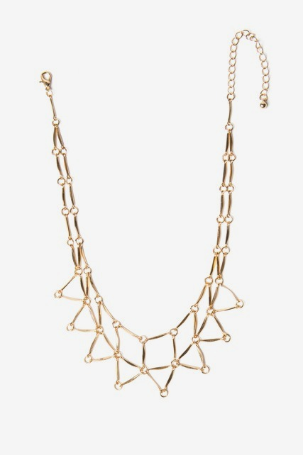 Cutout Statement Neck