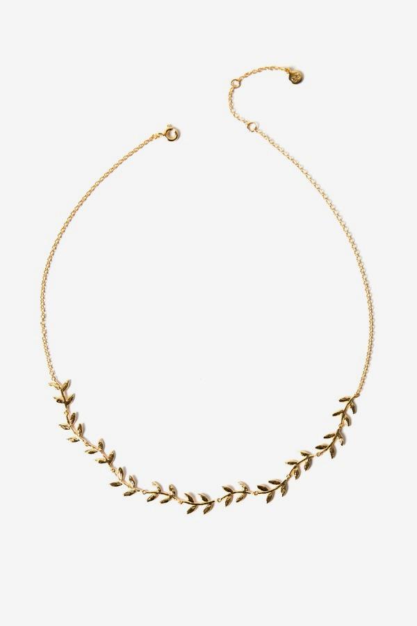 Wreath Collar Necklace