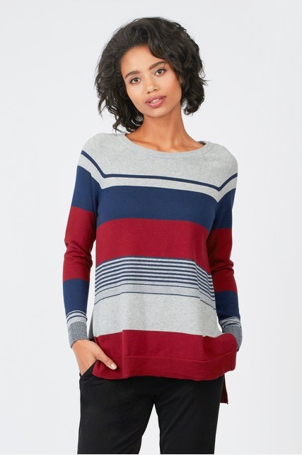 Variegated Stripe Sweater