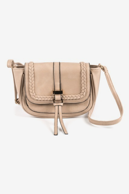 Braided Trim Crossbody
