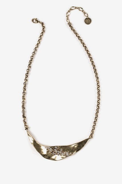 Pave Bib Necklace