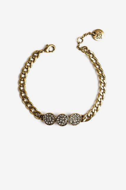 Triple Disc Bracelet