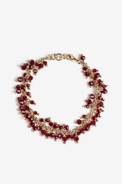 Berry Stone Bracelet