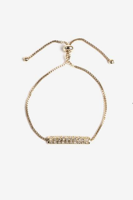Pave Slider Bracelet