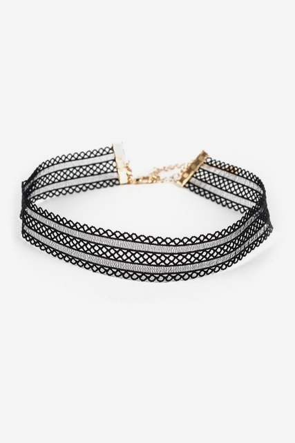 Lace Stretch Choker