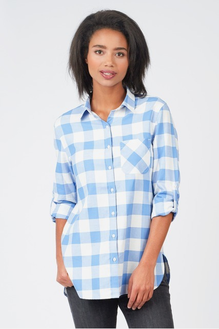Oversized Buffalo Check Flannel