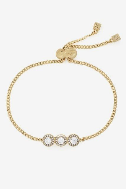 Crystal Pull Tie Bracelet