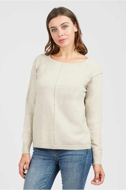 Front Seaming Sweater
