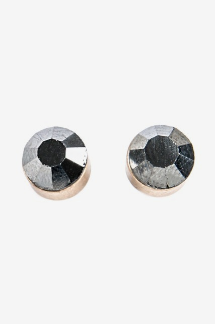 Metallic Stud Earrings