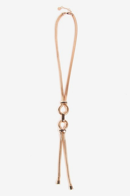 Slink Chain Y Necklace