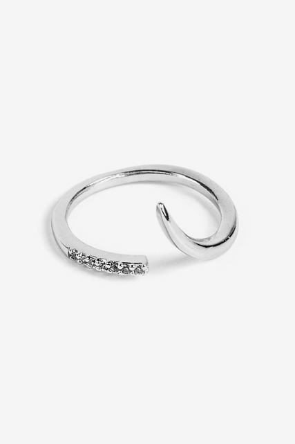Modern Pave Ring