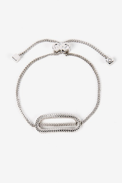 Oblong Slide Bracelet