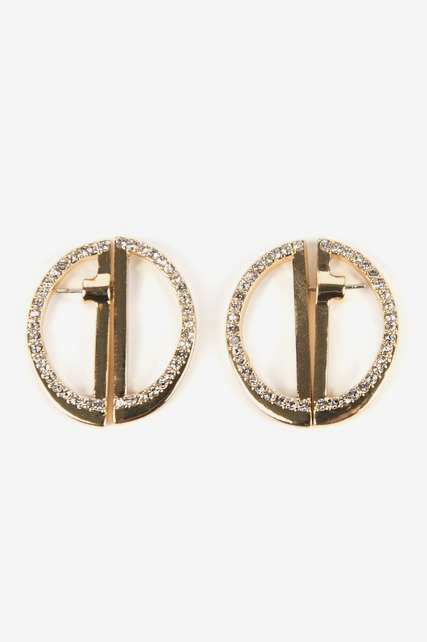 Split Disc Earrings